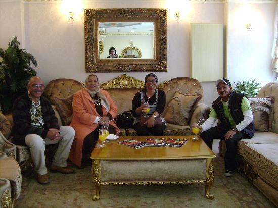 White House Hotel Istanbul: Wonderful reception.