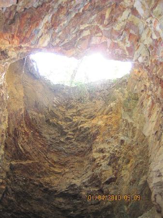 Las Cuevas, Trinidad: Inside cave