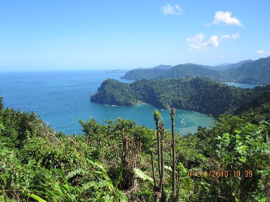 Las Cuevas, Trinidad: The first view of the North coast