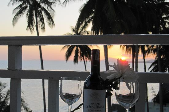 Grace Boutique Resort : Sunset from the balcony