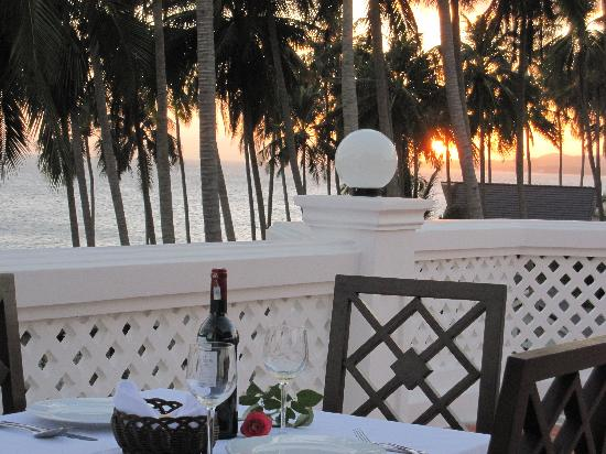 Grace Boutique Resort: View from the Terrace Restaurant