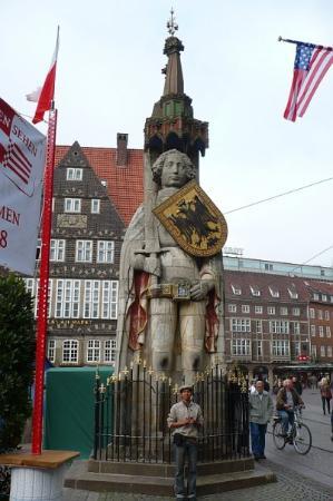 Beck's Brauereitour: Mit Roland Bremen, a warrior kebanggaan bremer...