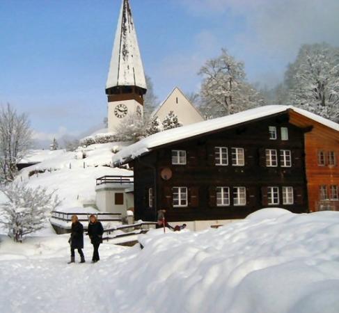 Wengen, Suiza: Chalet Wangfuren