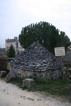 Beynac-et-Cazenac, Γαλλία: Skaapwagtershut - Frankryk