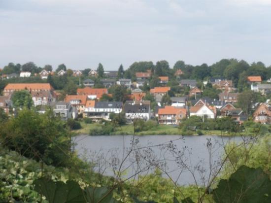 The lake in Kolding...