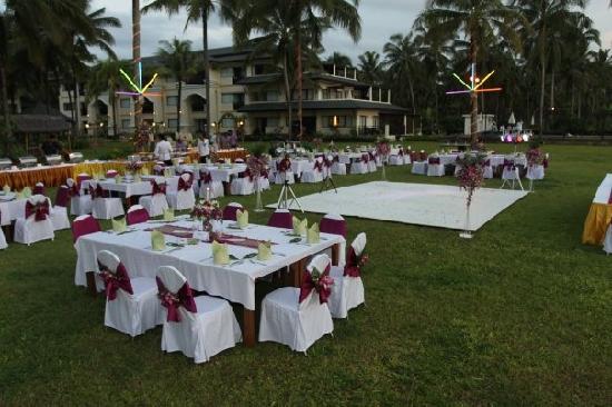 Khao Lak Orchid Beach Resort: Reception Setting