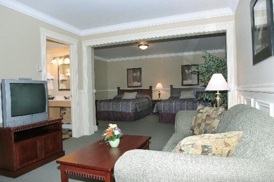 Willow Bend Motel: view from door