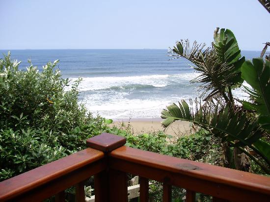 Imvubu Lodge: Ocean view