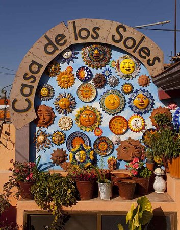 Casa de los Soles: On the rooftop terrace