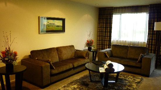 Village Lake Apartments: Living area apt #3
