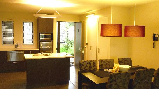 Village Lake Apartments: Kitchen and dining apt #3