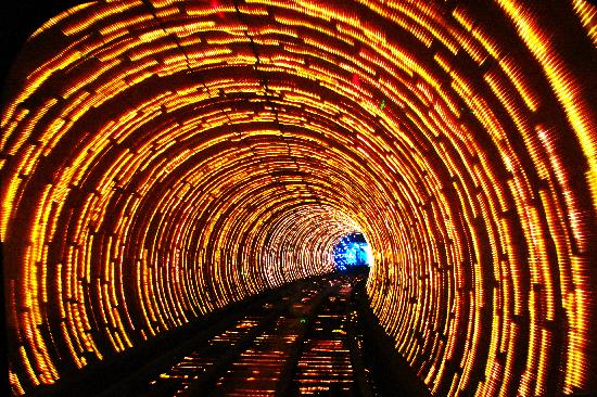 Shanghai, China: Sightseeing Tunnel 02