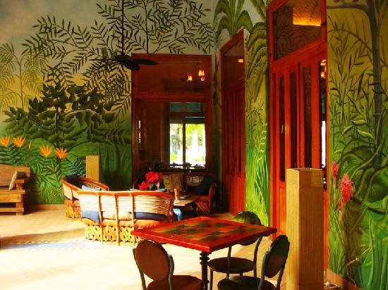 Hotel Casa San Angel: common area
