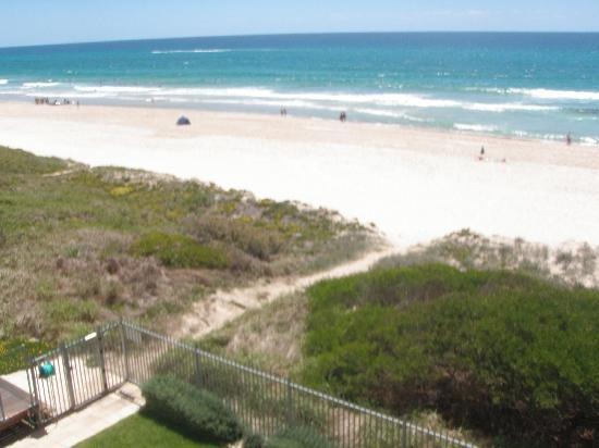 Dorchester on the Beach: From the balcony, showing access to the beach