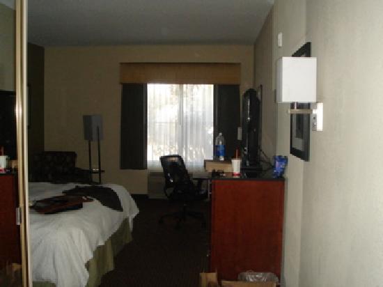 Hampton Inn Santa Cruz: ingresso