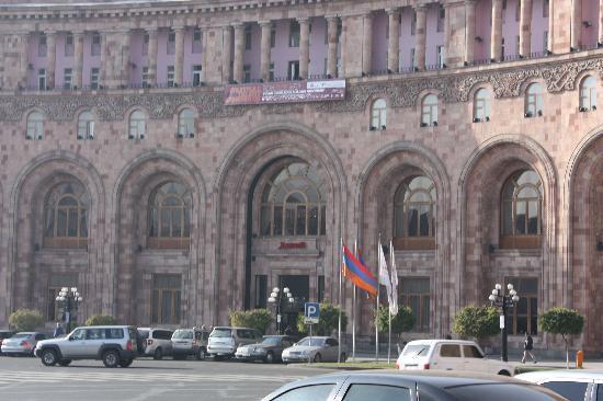 Armenia Marriott Hotel Yerevan: Hotel Building
