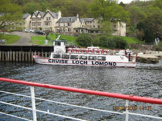 Loch Achray Hotel: Cruising Loch Lomond at Inversnaid