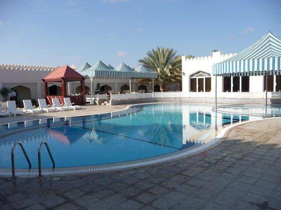 Falaj Daris Hotel: la piscina
