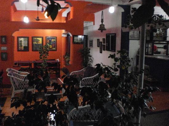 The Hoka Island Villa: restaurant