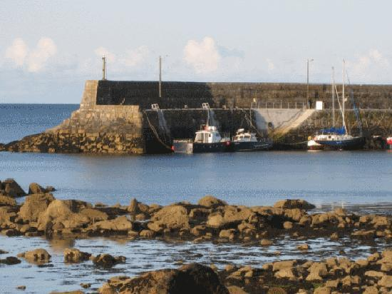 An Corrach Mor: Spiddal Pier