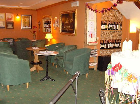 Hotel Edelweiss: cosy lounge