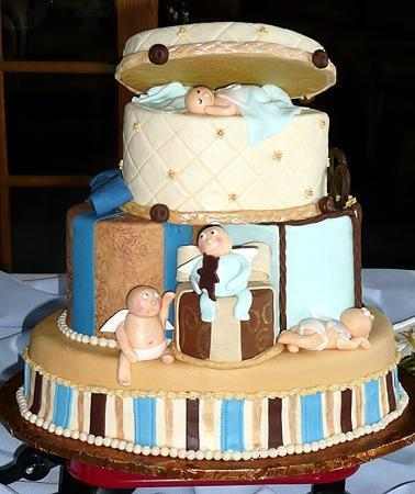 Sugar Pine Bake Shop: baby shower cakes