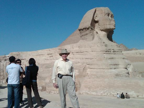 Egypt: Wells at the Great Sphinx