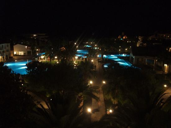Barut Arum: View from our room at night