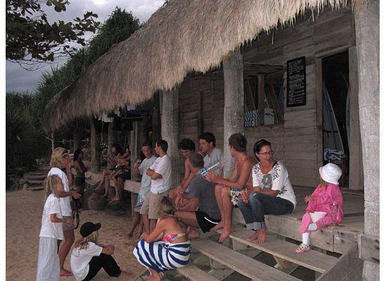 Nihi Sumba: boat house