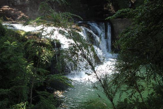Cascada Mallin Ahogado : Catarata del Mallin