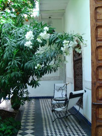 Riad Mesc el Lil: Der Innenhof