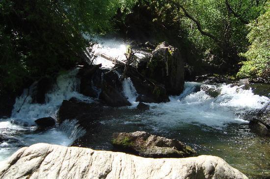 Cascada Escondida: otra postal del lugar