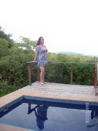 Agua Vista: our own personal plunge pool!