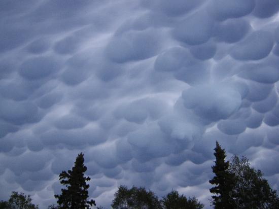 Kapasiwin Bungalows: Ominous Storm Clouds Over Kapasiwin