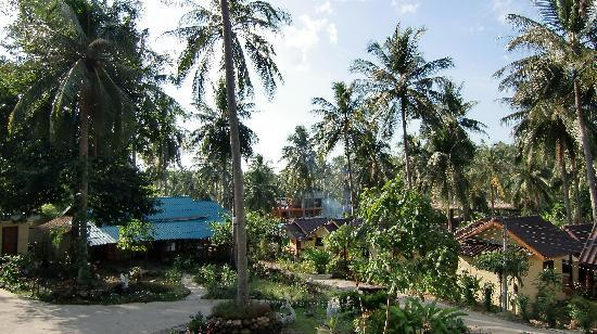 Janinas Resort: Blick vom Balkon