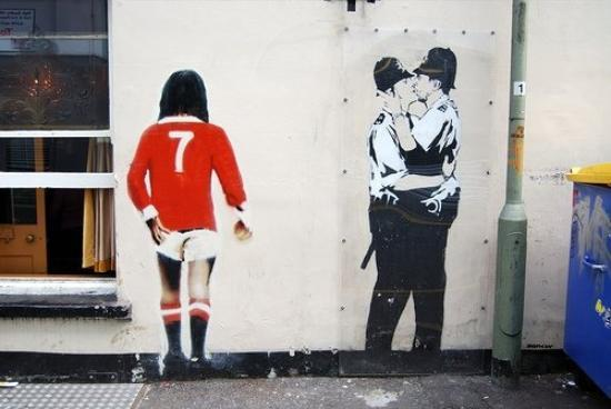 Banksy's real name is not, as is commonly believed and has ...