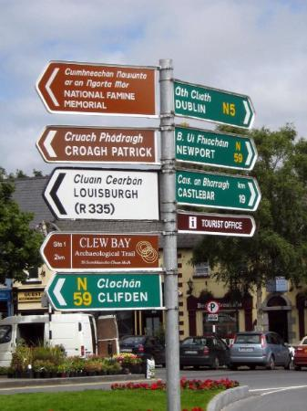 Westport, Irland: So many places to go, so little time...