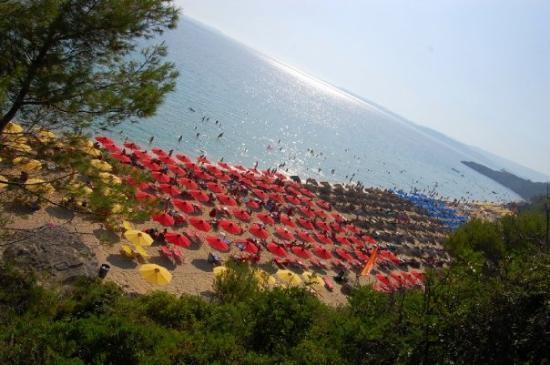 Argostolion, Greece: Plage de Makris Yalos, Argostoli