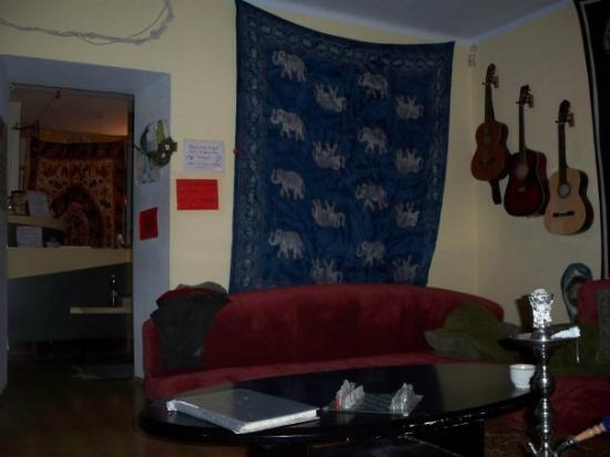 Euphoria Hostel: The common room