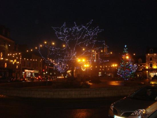 Donegal Town in Christmas dress