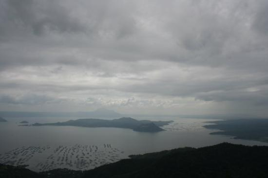 """Lake Taal: Taal Lake and Volcano, Tagaytay, Philippines  """"Largest island in a lake on an island in a lake"""
