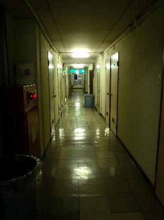 Hotel Toyo: Hallway outside rooms