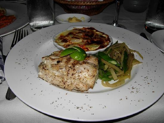 Bagatelle Restaurant: Kingfish Dinner