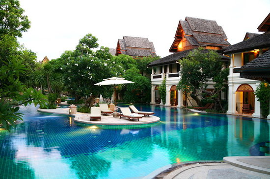 Khum Phaya Resort & Spa, Centara Boutique Collection: Large free form swimming pool