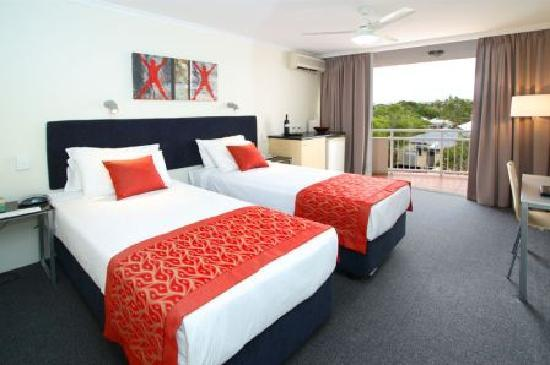 Wellington Apartment Hotel: Hotel room as either  twin beds or king bed