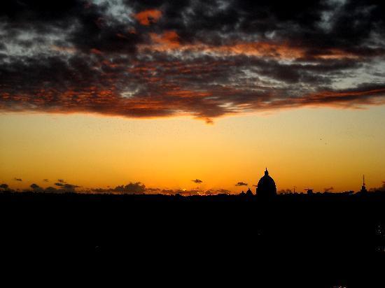 Rzym, Włochy: Roma al Tramonto