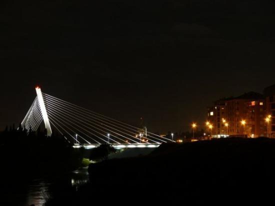 Podgorica, 2008 [Millenium bridge, Podgorica]