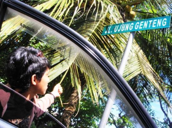 Sukabumi, Indonesia: perjalanan balik dan menuju curug cikaso . . .