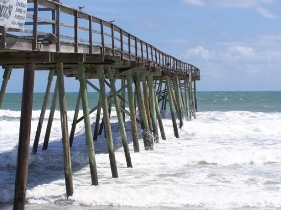 Wilmington Nc The Oceanic Pier At Wrightsville Beach