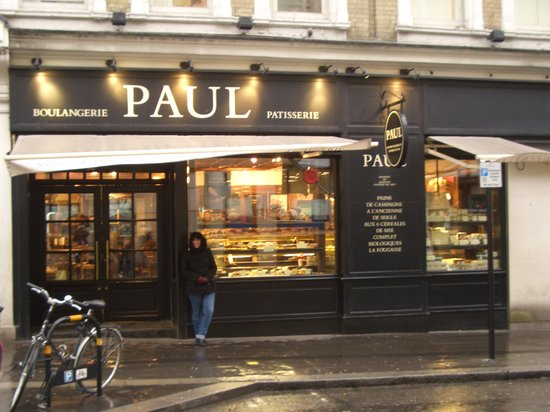 Fachada de paul 39 s picture of le restaurant de paul for Cafe de jardin in covent garden